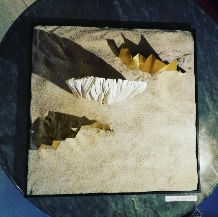 Senza titolo bianco-oro - Barbara Crimella